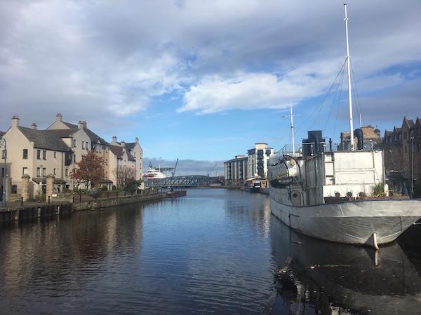 Edinburgh Leith schottlandblog