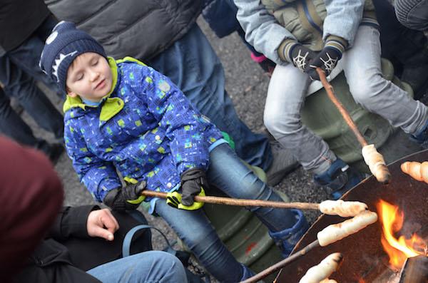 Waldweihnachtsmarkt Velen Kinder