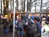 Weihnachtsmarkt Velen sehr voll