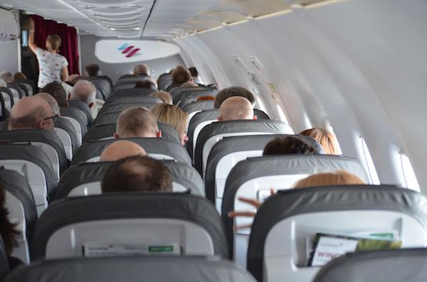 Flugzeug von innen