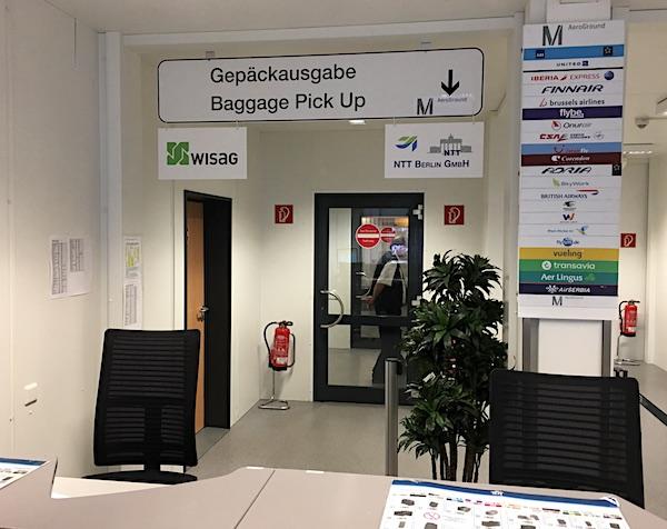 Gepäckausgabe Flughafen Berlin-Tegel