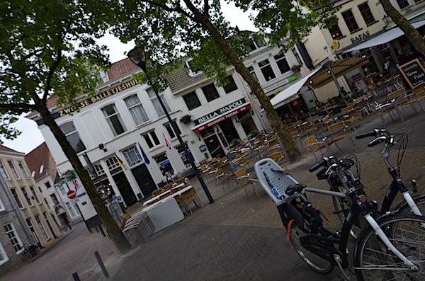 Zwolle bei Regen