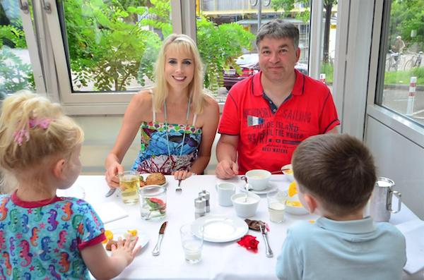 Frühstück im Pullman Hotel Fontana