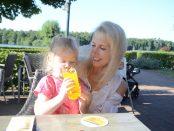 Dreiländersee in Gronau Restaurant mit Seeblick