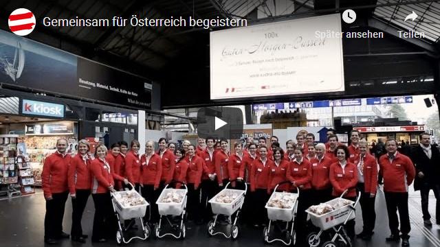 Gemeinsam fuer Oesterreich begeistern