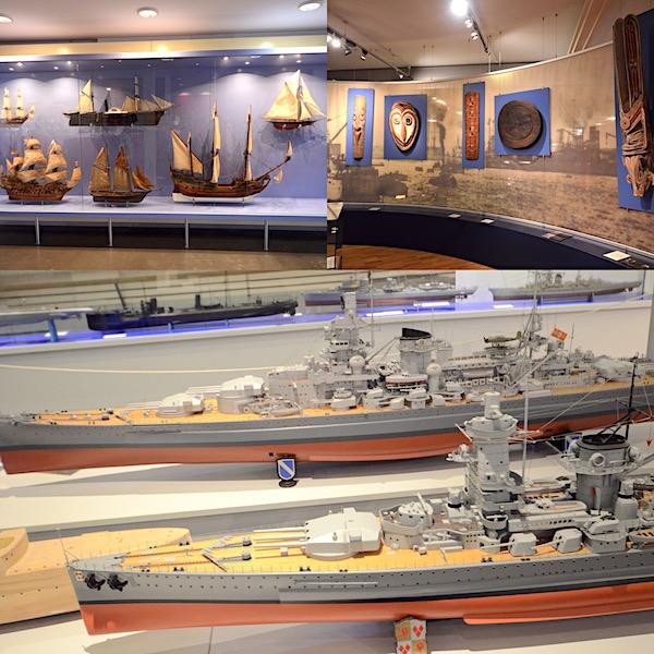 Museum mit Schiffen in Wilhelmshaven